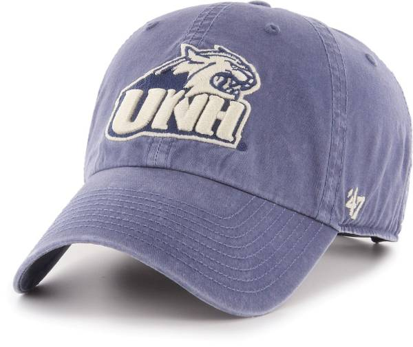 '47 Men's New Hampshire Wildcats Blue Hudson Clean Up Adjustable Hat product image