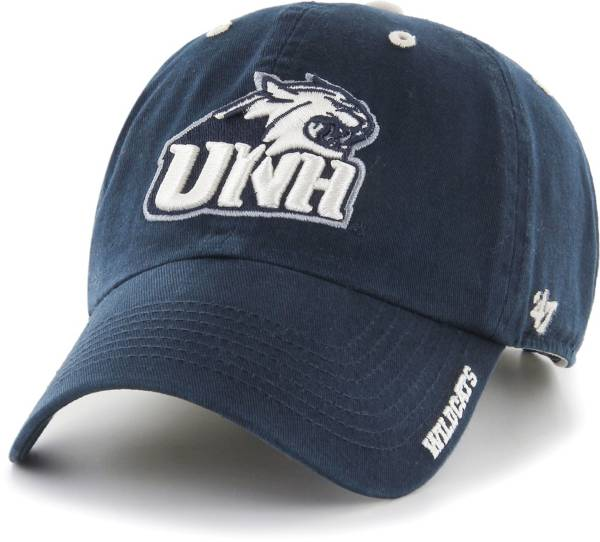 '47 Men's New Hampshire Wildcats Blue Ice Clean Up Adjustable Hat product image