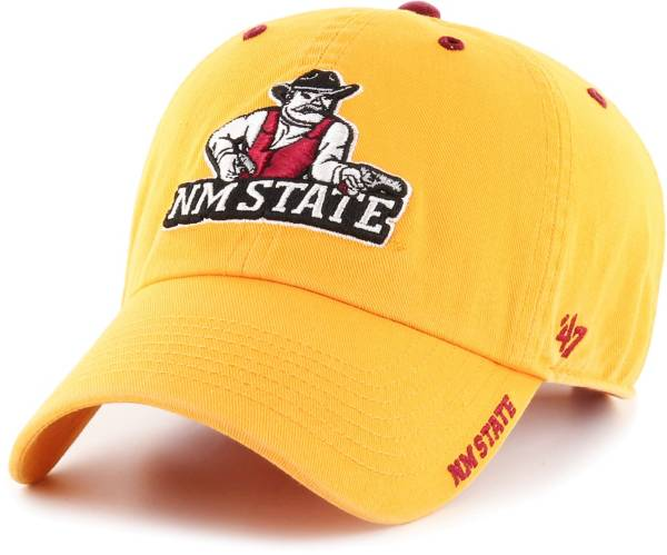 '47 Men's New Mexico State Aggies Gold Ice Clean Up Adjustable Hat product image