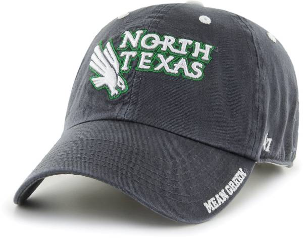 '47 Men's North Texas Mean Green Grey Ice Clean Up Adjustable Hat product image