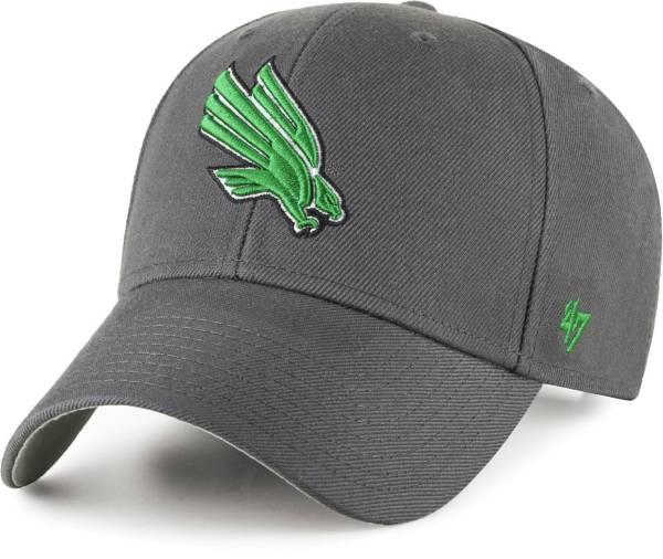 '47 Men's North Texas Mean Green Grey MVP Adjustable Hat product image