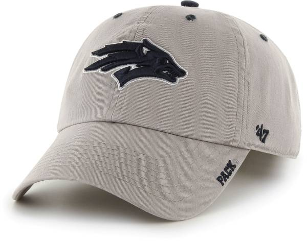 '47 Men's Nevada Wolf Pack Grey Ice Clean Up Adjustable Hat product image