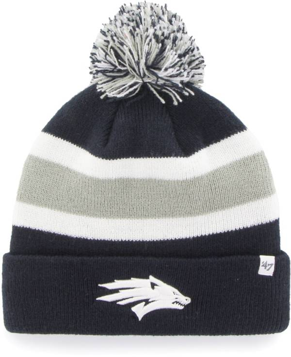 '47 Men's Nevada Wolf Pack Grey Breakaway Cuffed Knit Hat product image