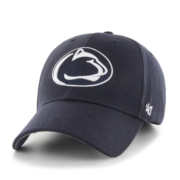 '47 Men's Penn State Nittany Lions Navy MVP Adjustable Hat product image