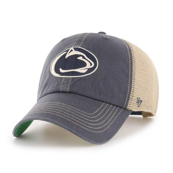 '47 Men's Penn State Nittany Lions Blue Trawler Clean Up Adjustable Hat product image