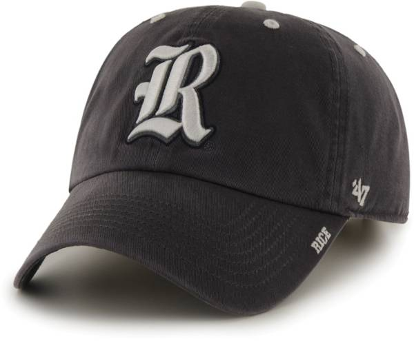 '47 Men's Rice Owls Grey Ice Clean Up Adjustable Hat product image