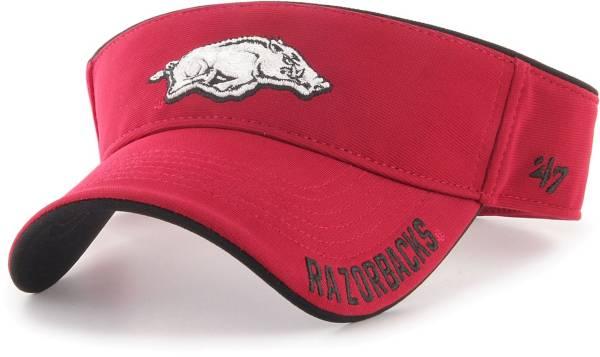 '47 Men's Arkansas Razorbacks Cardinal Top Rope Adjustable Visor product image