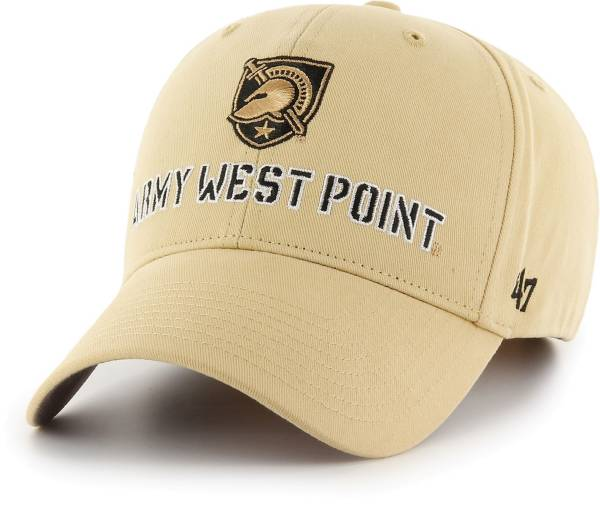 '47 Men's Army West Point Black Knights Gold Basic MVP Adjustable Hat product image