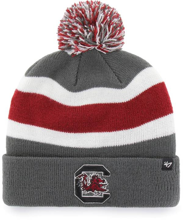 '47 Men's South Carolina Gamecocks Grey Breakaway Cuffed Knit Hat product image