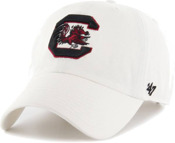 '47 Men's South Carolina Gamecocks Clean Up Adjustable White Hat product image