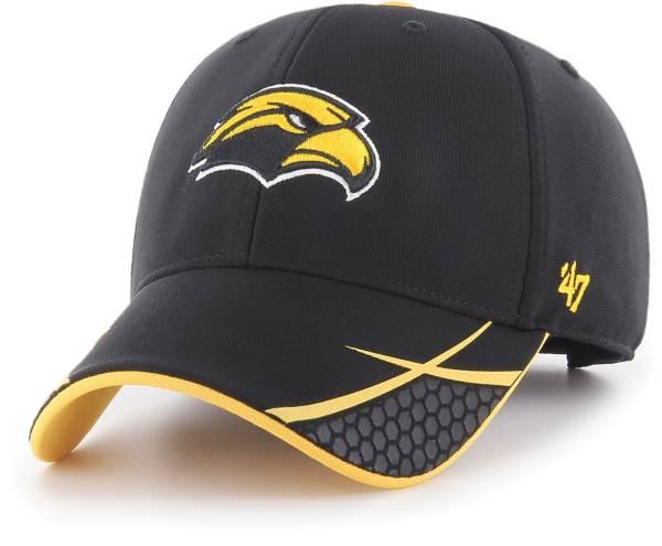 '47 Men's Southern Miss Golden Eagles Sensei MVP Adjustable Black Hat product image