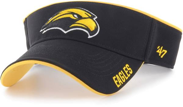 '47 Men's Southern Miss Golden Eagles Top Rope Adjustable Black Visor product image