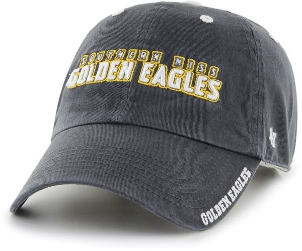 '47 Men's Southern Miss Golden Eagles Grey Ice Clean Up Adjustable Hat product image