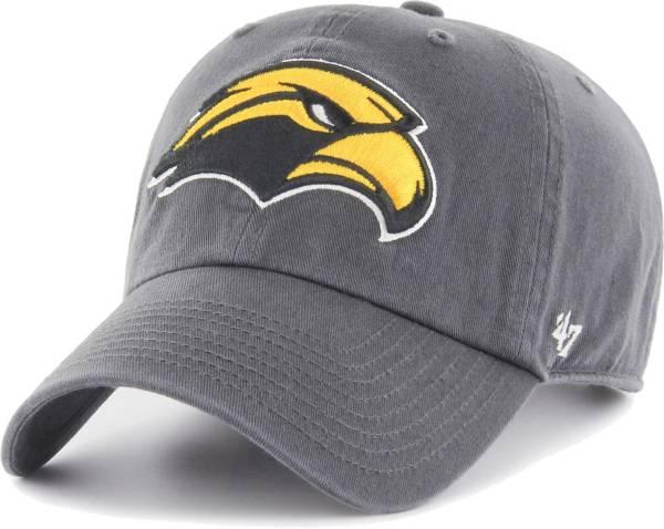 '47 Men's Southern Miss Golden Eagles Grey Clean Up Adjustable Hat product image