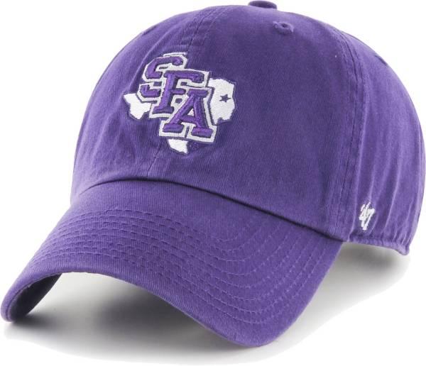'47 Men's Stephen F. Austin Lumberjacks Purple Clean Up Adjustable Hat product image
