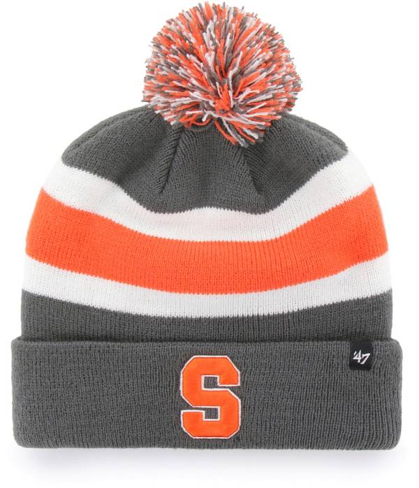 '47 Men's Syracuse Orange Grey Breakaway Cuffed Knit Hat product image