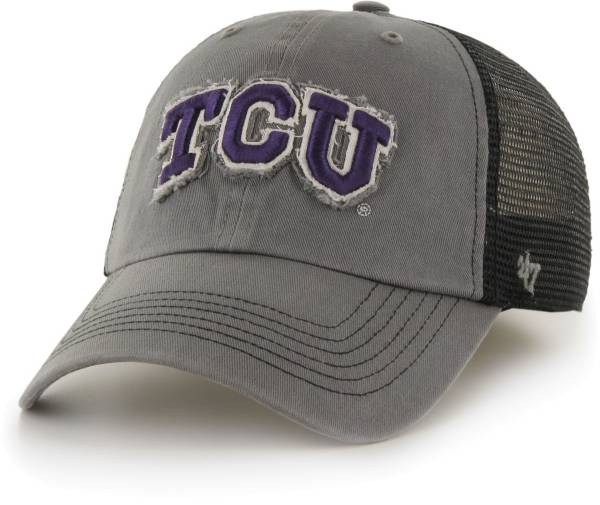 '47 Men's TCU Horned Frogs Grey Blue Mountain Closer Fitted Hat product image