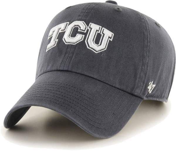 '47 Men's TCU Horned Frogs Grey Clean Up Adjustable Hat product image
