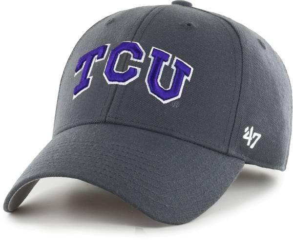 '47 Men's TCU Horned Frogs Grey MVP Adjustable Hat product image