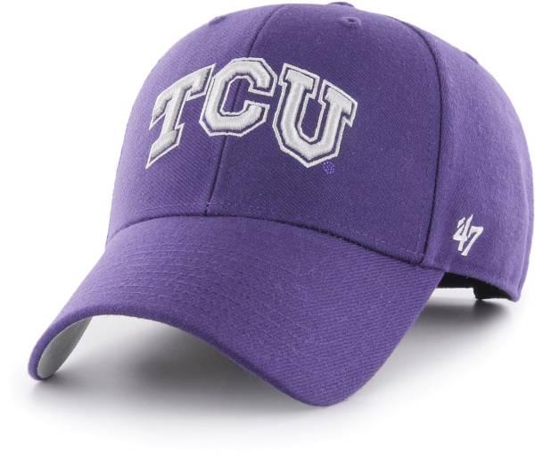 '47 Men's TCU Horned Frogs Purple MVP Adjustable Hat product image