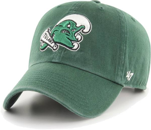 '47 Men's Tulane Green Wave Green Clean Up Adjustable Hat product image