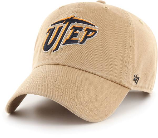 '47 Men's UTEP Miners Khaki Clean Up Adjustable Hat product image