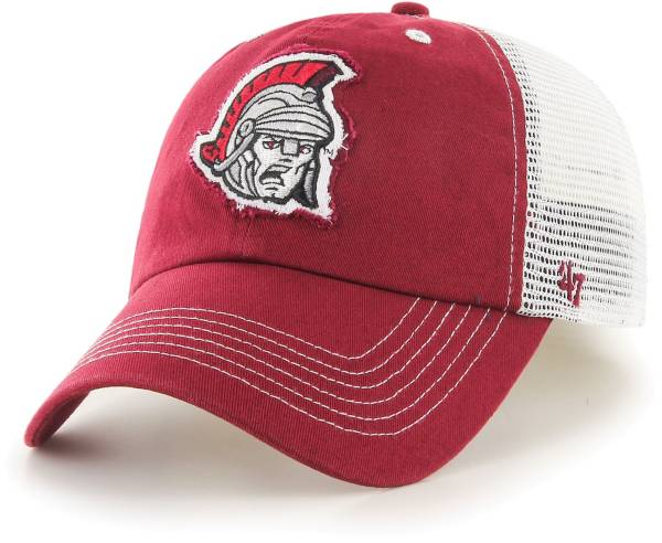 '47 Men's Troy Trojans Cardinal Blue Mountain Closer Fitted Hat product image