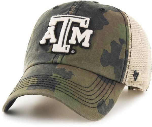 '47 Men's Texas A&M Aggies Camo Burnett Clean Up Adjustable Hat product image