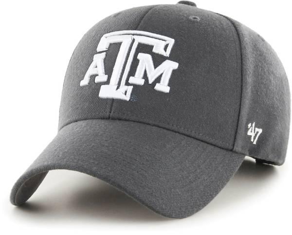 '47 Men's Texas A&M Aggies Grey MVP Adjustable Hat product image