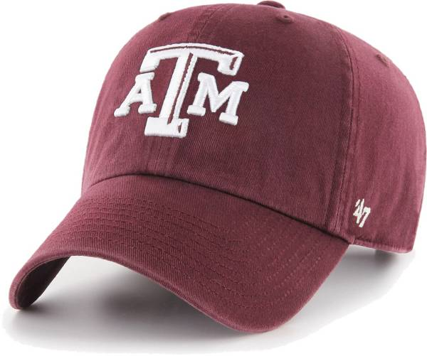 '47 Men's Texas A&M Aggies Maroon Clean Up Adjustable Hat product image