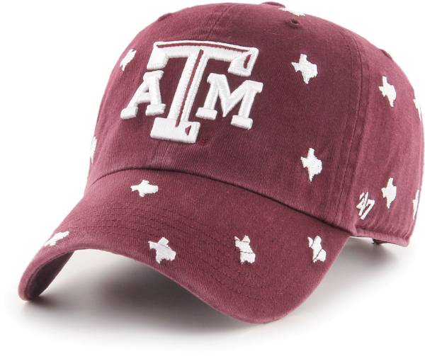 '47 Women's Texas A&M Aggies Maroon Confetti Adjustable Hat product image