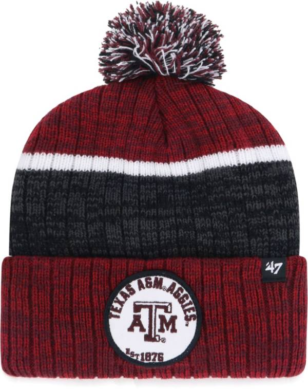 '47 Men's Texas A&M Aggies Maroon Holcomb Cuffed Knit Beanie product image