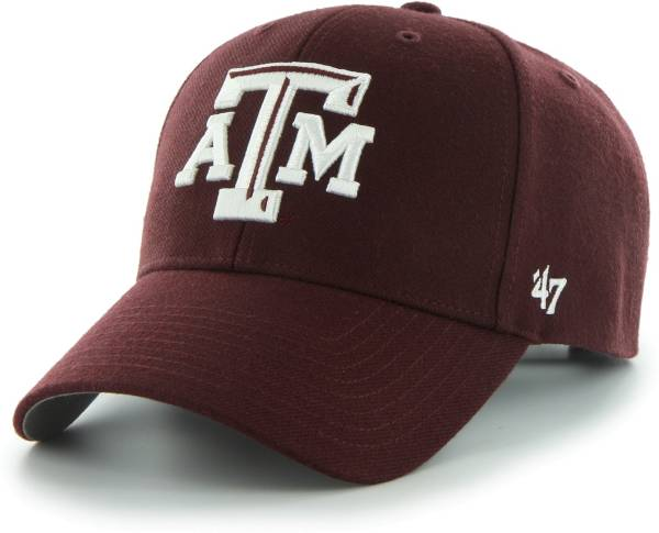 '47 Men's Texas A&M Aggies Maroon MVP Adjustable Hat product image