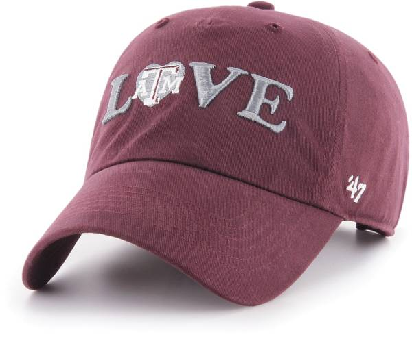 '47 Women's Texas A&M Aggies Maroon Love Script Clean Up Adjustable Hat product image