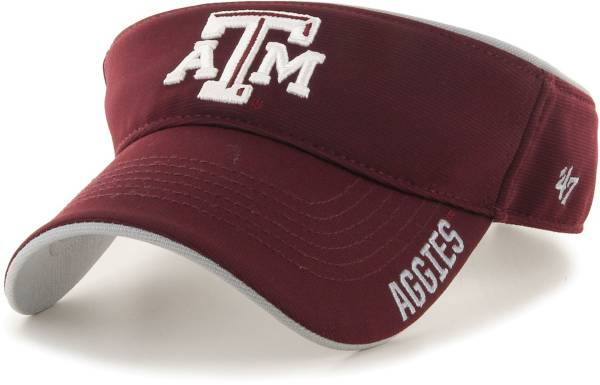 '47 Men's Texas A&M Aggies Maroon Top Rope Adjustable Visor product image