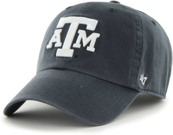 '47 Men's Texas A&M Aggies Navy Clean Up Adjustable Hat product image