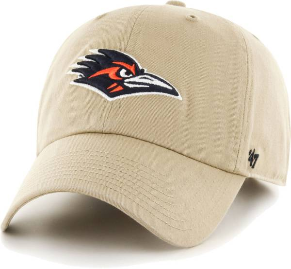 '47 Men's UT San Antonio Roadrunners Khaki Clean Up Adjustable Hat product image