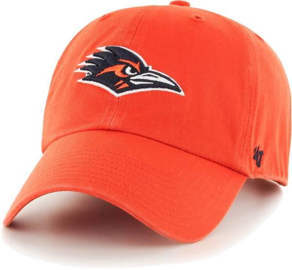 '47 Men's UT San Antonio Roadrunners Orange Clean Up Adjustable Hat product image
