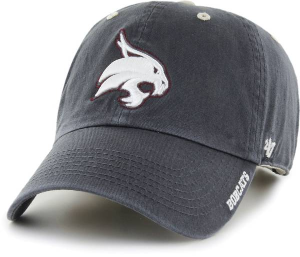 '47 Men's Texas State Bobcats Grey Ice Clean Up Adjustable Hat product image
