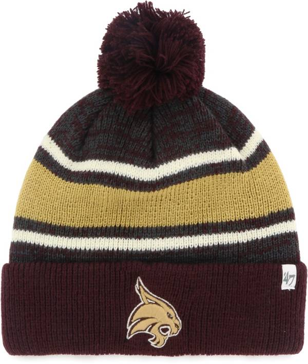 '47 Men's Texas State Bobcats Maroon Fairfax Cuffed Knit Hat product image