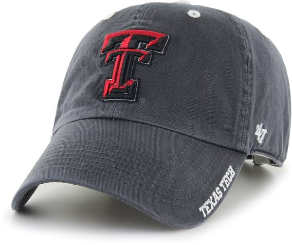 '47 Men's Texas Tech Red Raiders Grey Ice Clean Up Adjustable Hat product image