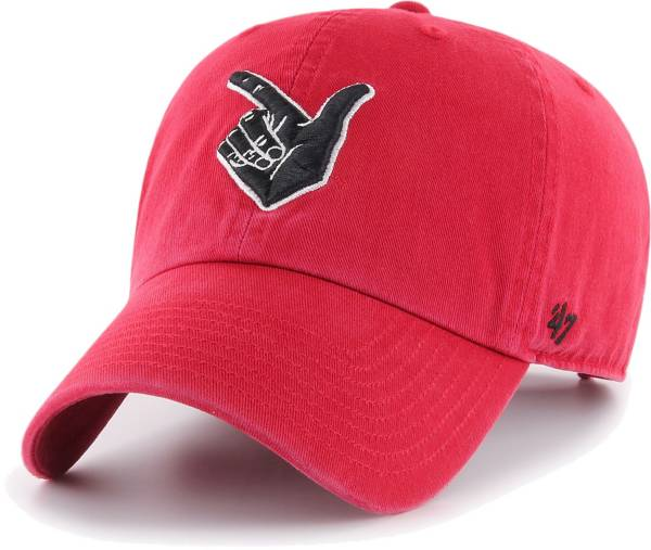 '47 Men's Texas Tech Red Raiders Red Clean Up Adjustable Hat product image