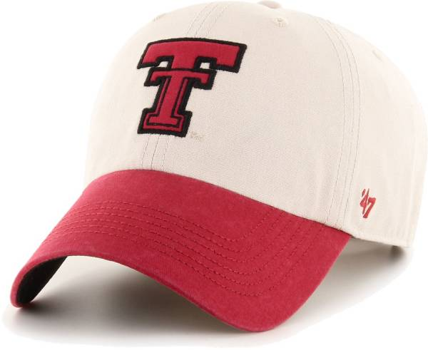 '47 Men's Texas Tech Red Raiders Rivington Clean Up Adjustable White Hat product image