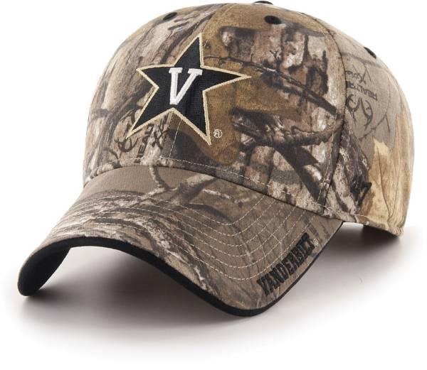 '47 Men's Vanderbilt Commodores Camo Realtree Frost MVP Adjustable Hat product image
