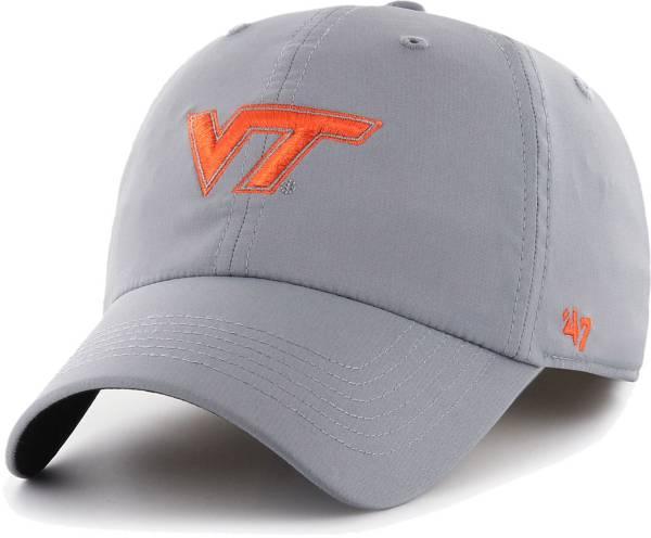 '47 Men's Virginia Tech Hokies Burnt Orange Clean Up Adjustable Hat product image