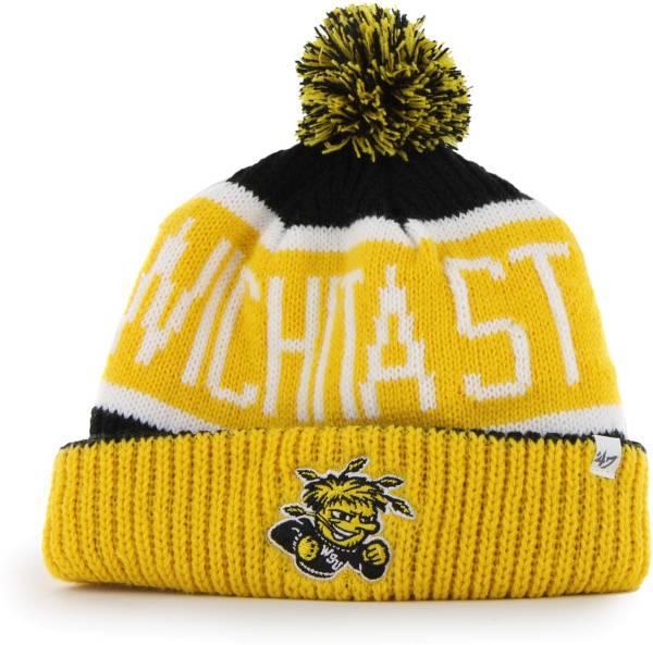 '47 Men's Wichita State Shockers Calgary Cuffed Knit Black Hat product image