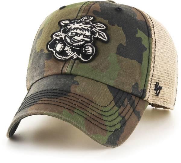 '47 Men's Wichita State Shockers Camo Burnett Clean Up Adjustable Hat product image