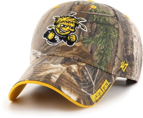 '47 Men's Wichita State Shockers Camo Realtree Frost MVP Adjustable Hat product image