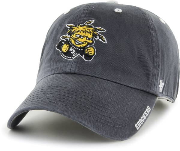 '47 Men's Wichita State Shockers Grey Ice Clean Up Adjustable Hat product image