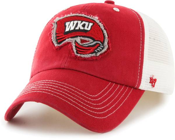 '47 Men's Western Kentucky Hilltoppers Red Blue Mountain Closer Fitted Hat product image